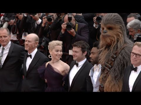 SOLO: A Star Wars Story European Premiere At Cannes