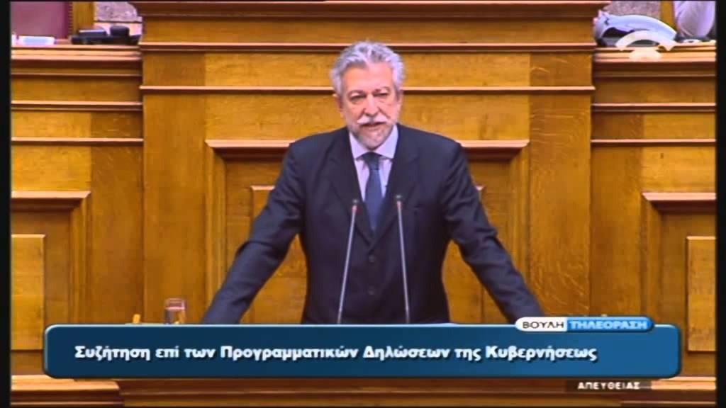 Προγραμματικές Δηλώσεις: Ομιλία Σ. Κοντονή (Υφ. Αθλητισμού) (06/10/2015)
