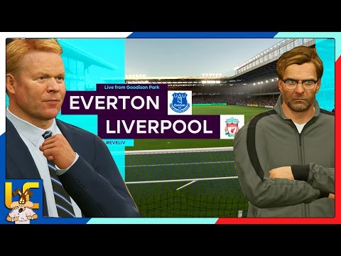 Merseyside Derby | EVERTON VS LIVERPOOL | FIFA 17 Prediction