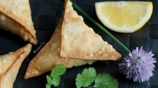 Beef Samosas (Sambuus) 