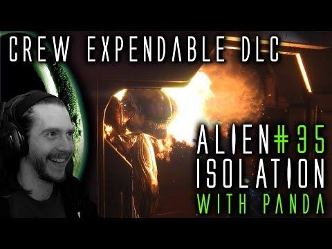 CREW EXPENDABLE DLC [#35] Alien Isolation with HybridPanda (видео)