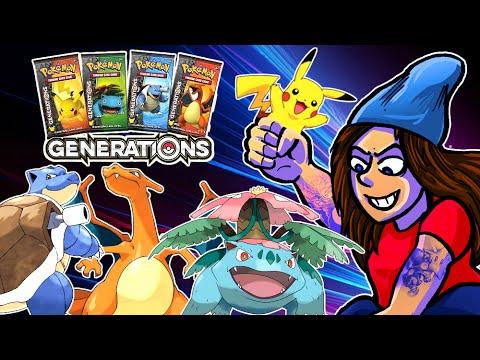 Unboxer Pokémon Generations!