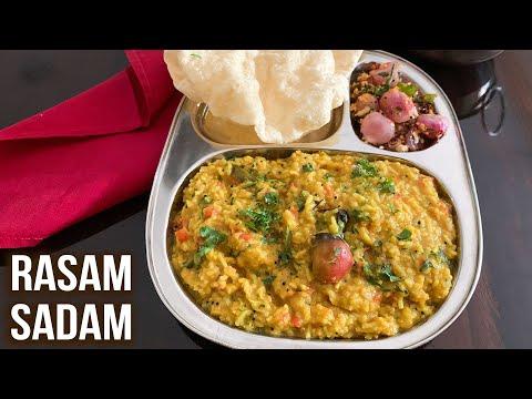 How To Make Rasam Rice | Healthy Rasam Sadam | Easy South Indian Recipe | One Pot Meal | Ruchi