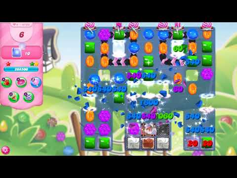 Candy Crush Saga Level 4793 NO BOOSTERS - A S GAMING ✔