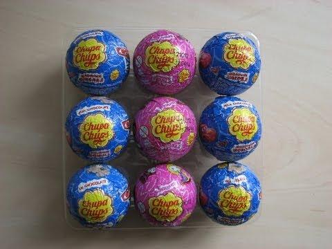 Unboxing rare Chupa Chups balls. Disney Cars and Princess.
