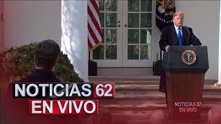 Confrontación entre el Presidente y el Estado de California. – Noticias 62. - Thumbnail
