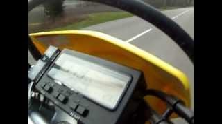 2. Suzuki 400 DRZ 0-160 Km/h ! Top speed !