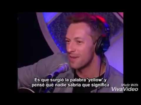La historia de la canción Yellow de Coldplay