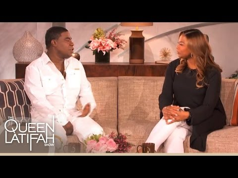Tracy Morgan Talks About New Comedy Stand-Up Special on The Queen Latifah Show