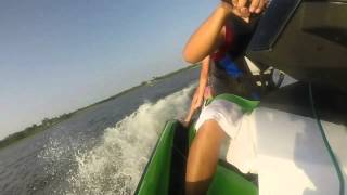 8. 2014 Sea Doo GTI SE 130 Pulling Tube Part 2