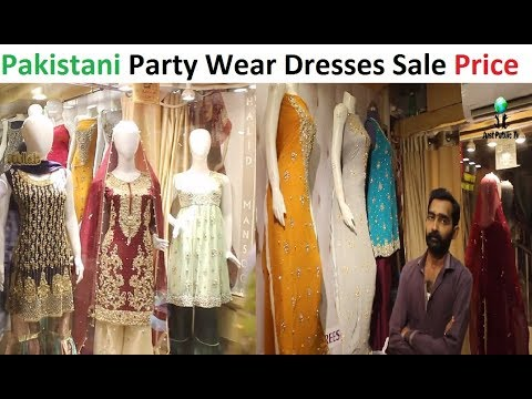 PARTY WEAR DRESSES WITH PRICE || Tariq Road Bazar || Wareesha Bridal Collection