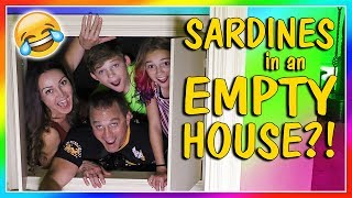 """Since we just moved into our new house and are waiting for our things to be delivered we decide to play the hide and seek game called Sardines. This ends up being really fun since the house is so empty you could hide in anything! Subscribe https://www.youtube.com/c/wearethedavises?sub_confirmation=1Our mailing address:We Are The Davises28241 Crown Valley Pkwy Suite F #613Laguna Niguel, CA 92677""""We Are The Davises"""" is an entertaining family vlog channel based in Florida. Our daily videos show our real life moments, challenges, funny skits, and traveling adventures. Shawn is an outstanding father and husband that enjoys coaching children in team sports like football and wrestling. Connie is very creative with our channel as she makes everything in our lives as fun and entertaining as possible while still molding our kids into the amazing people they are today. Kayla is currently 12 years old. Her passion is competitive cheer leading and loves all animals from fluffy puppies to the little frogs. Tyler is 11 years old and is obsessed with playing video games and team sports such as football. We are excited to share our fun filled journey!Check out our gaming channel We Are The Davises Gaming if you love gaming videos.https://www.youtube.com/channel/UCShsPtvK0WzxjljpN4rhVzgPlease be sure to check out all of our social media platforms that we have listed below for you.Twitter:  https://twitter.com/wearethedavisesFacebook:  https://www.facebook.com/wearethedavises/Instagram: https://www.instagram.com/wearethedavises/Google+: https://plus.google.com/u/0/+WeAreTheDavises2016/postsSnapchat:  https://www.snapchat.com/add/wearethedavisesMusical.ly:  wearethedavisesDo you like certain types of videos? Come and check out the playlists that we have setup to make it easier for you to watch what you like.Here is a playlist of all our daily videos. https://www.youtube.com/playlist?list=PL1SgveIsSpIqtjNq-QnGHSHxv410nkJfyThis playlist was put together specifically for all you Kayla fan"""
