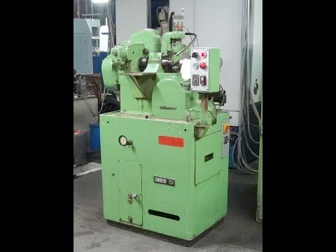 Gear Hobbing Machine LAMBERT 751 1990