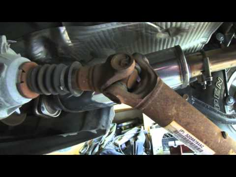 DIY how to change U Joints