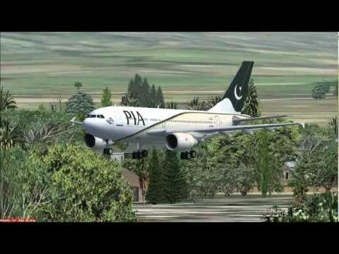 (PIA) Pakistan International Airlines FSX Promotional Video 2013