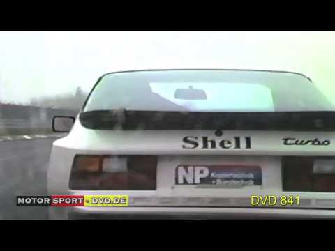 Porsche 944 turbo Cup 1986 Nürburgring  (DVD 841Trailer)
