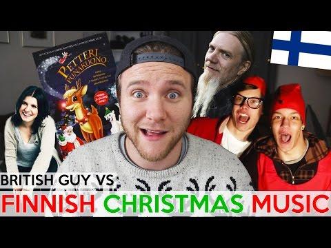 Britti kuuntelee Suomalaisia joululauluja