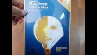 video thumbnail SKINFACTORY energy galvanic mask is recommended to use 30 to 40 minutes for severe dry skin youtube