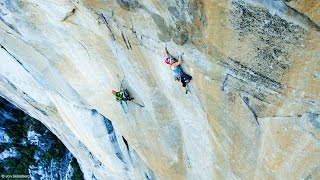 Petzl athlete Emily Harrington sends Golden Gate (5.13 VI) in El Capitan by Petzl Sport
