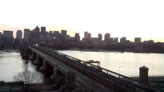 Full Day Time-Lapse Over Longfellow Bridge - Dec 27, 2014