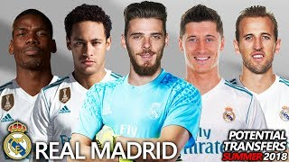 Video REAL MADRID - POTENTIAL TRANSFERS & RUMOURS SUMMER 2018 | Ft. NEYMAR, POGBA, KANE, DE GEA... MP3, 3GP, MP4, WEBM, AVI, FLV Juni 2018