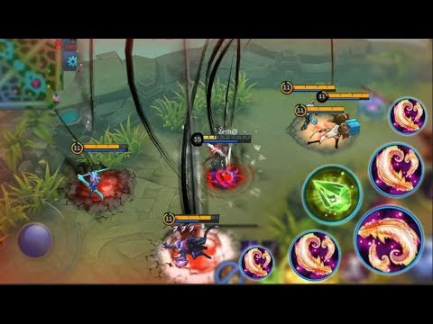 New Insane Mage Pharsa Max Magic Damage Build 5 Blood Wings Mobile