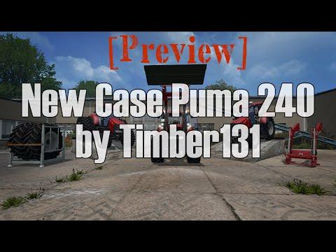 Case Puma 240 CVX Set v1.5