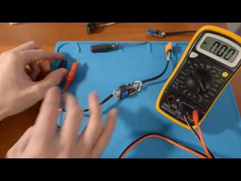 Модуль понижения напряжения с Banggood. LM2596 DC-DC Step-Down Module