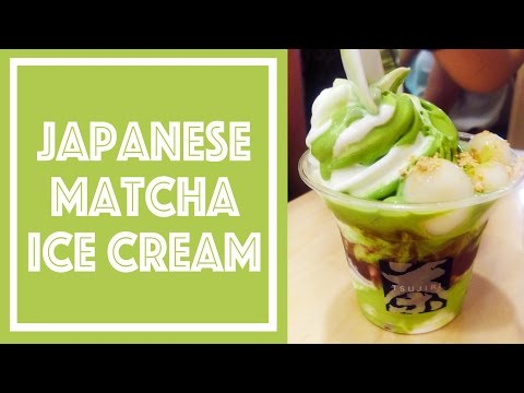 BEST MATCHA ICE CREAM In Toronto Canada 多倫多最好吃的抹茶