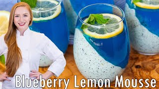 Blueberry Lemon Mousse Parfaits by Tatyana's Everyday Food