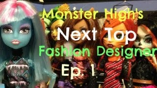 Monster High Next Top Fashion Designers Season 3 Monster High Next Top