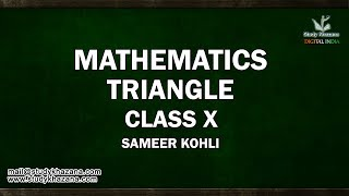 This Video Lecture reviews the common types of triangles in geometry.In this video tutorial, you will learn a) classify triangles by angles: Right Triangles, Acute Triangles, Obtuse Triangles, Oblique Trianglesb) classify triangles by length of sides: Equilateral Triangles, Isosceles Triangles, Scalene Trianglesc) Solve some problems involving angles and sides of trianglesMr. Sameer Kohli is our the most interactive teacher of study khazana. He teaches the students of class IX, X, XI, and XII. Further, he has 18 years of experience and this experience has made many students score the best result. A topic taught by Sir cannot be forgotten. He has a zeal to teach and he always comes up with a new enthusiasm, a new story and a new trick. His lectures are boon for all the students who want to succeed. In his lectures, he has shared some secrets of success. If you wish to be successful you should watch his lectures. These lectures can be a life changing experience for you.SUBSCRIBE to Watch More Tutorials & Lectures Visit: https://www.youtube.com/c/StudyKhazana** Stay Connected with Us **https://www.facebook.com/studykhazanahttps://twitter.com/studykhazanaahttps://www.instagram.com/study_khazana/Full Course and Lecture Videos now available on (Study Khazana) login at http://studykhazana.com/Contact Us : +91 8527697924Mail Us: mail@studykhazana.com