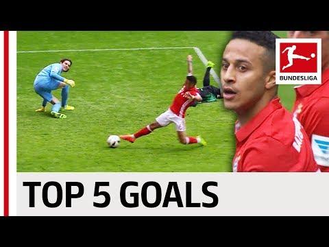 العرب اليوم - شاهد: أفضل 5 أهداف لتياغو ألكانتارا في