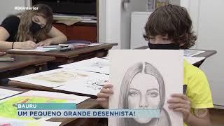 Menino de 9 anos com talento de gente grande
