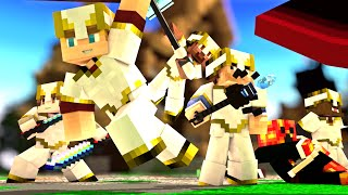 "Minecraft Song ♪ ""Mobs Can't Handle Us"" a Minecraft CrazyCraft Parody (Minecraft Animation)"