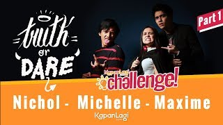Download Video Truth Or Dare: Maxime - Michelle Ziudith - Jefri Nichol [PART 1] MP3 3GP MP4