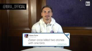 Video Soccer Legend Zlatan Ibrahimovic Reads His Favorite 'Zlatan Facts' MP3, 3GP, MP4, WEBM, AVI, FLV Mei 2018