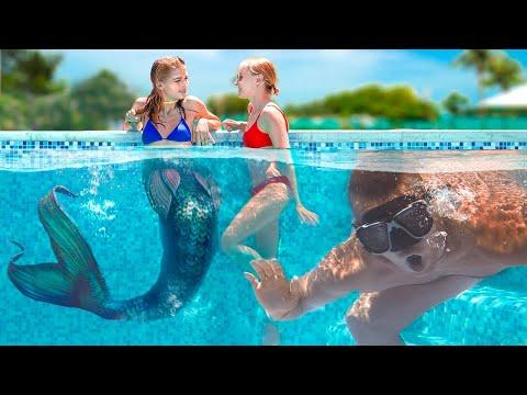 Meine Freundin Ist eine Meerjungfrau! - Lustige Meerjungfrau Situationen