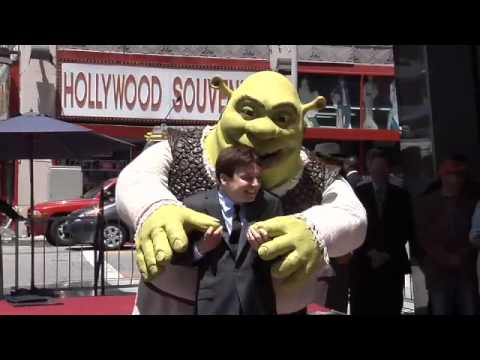 Shrek Walk of Fame Ceremony