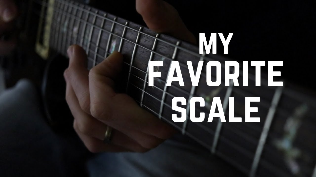 Slow Melody on Electric Guitar … (using my favorite scale)