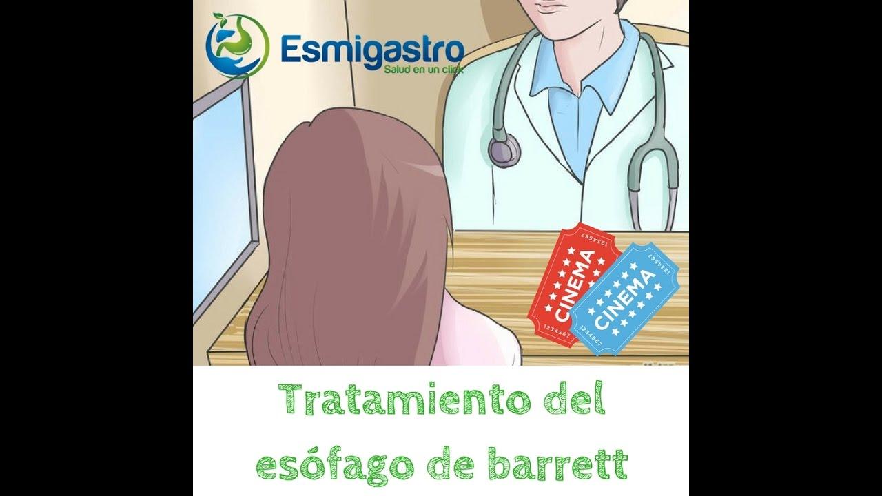 Tratamiento del esófago de barrett