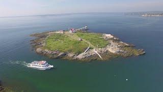 Lighthouse Aerials - Ram Island