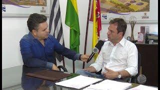 Entrevista com o diretor do SAAE - Ronald Pereira da Silva