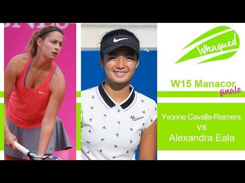 Alexandra Eala vs Yvonne Cavalle-Reimers - Final Manacor 2021
