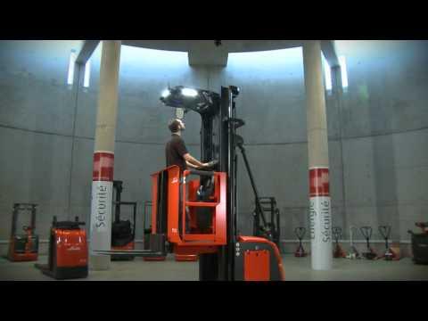 Linde Man-Up Order Pickers: V10 2800mm & V10 6350mm