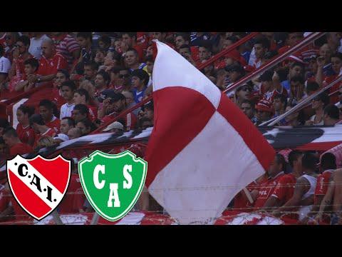 Independiente 1 - Sarmiento 1 | Compilado de la  hinchada - La Barra del Rojo - Independiente