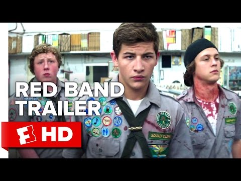 Scouts Guide to the Zombie Apocalypse Red Band TRAILER 1 (2015) - Movie HD