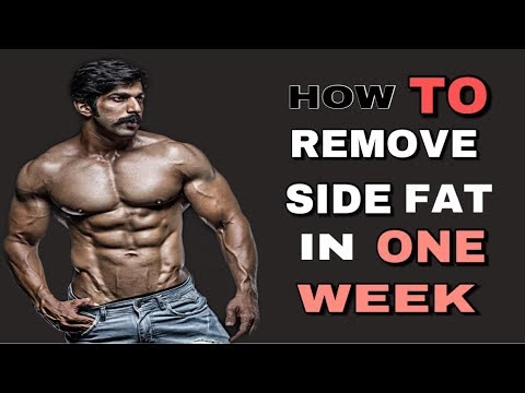HOW TO REMOVE SIDE FAT IN ONE WEEK RUBAL DHANKAR FITNESS