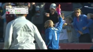Re-live the penalty kick-shootout between the LA Galaxy and Colorado Rapids. Subscribe to our channel for more soccer content: ...
