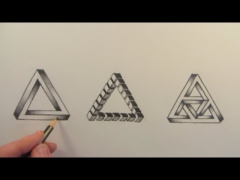 How to Draw The Impossible Triangle in 3 Different Ways